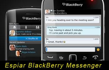 Finalmente, Si es Posible Espiar CelularesBlackBerry